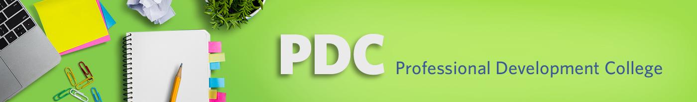 PDC header image